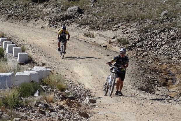 Mountan Bike en la Villa de Merlo
