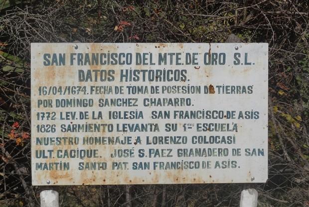 San Francisco del Monte de Oro